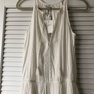 Joie soft white maxi dress